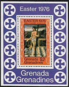Grenada, Grenadines #173 MNH S/Sheet - Easter Painting