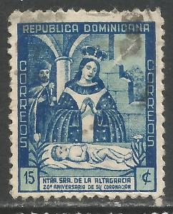 DOMINICAN REPUBLIC 398 VFU P189-5