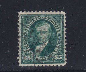 278 VF-XF used neat light cancel with nice color cv $ 600 ! see pic !