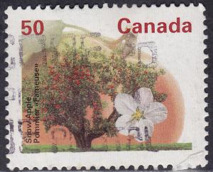 Canada 1365 USED 1994 Snow Apple Tree 50