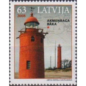 Latvia 2008 Lighthouses of Latvia  (MNH)  - Lighthouses