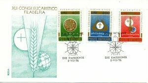 Vatican City FDC #592-594 (8749)