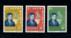 [90176] Ethiopia 1964 Human Rights Eleanor Roosevelt  MNH