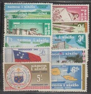 Samoa  SC  223-32  Mint Never Hinged