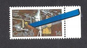 Canada GREEN WALKMAN VARIETY SCOTT 765ii VF MINT NH (BS16079)