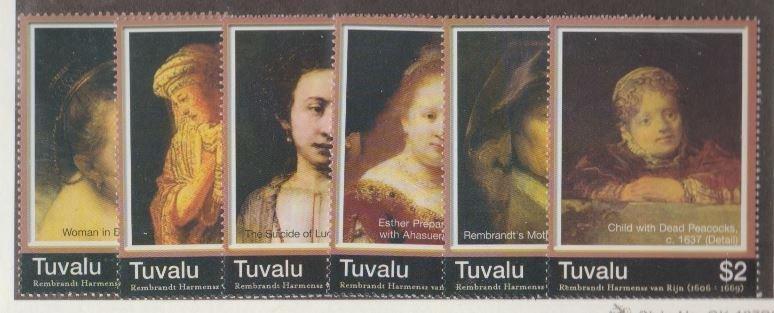 Tuvalu Scott #1015-1020 Stamps - Mint NH Set