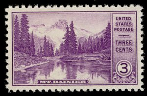 US #742 SUPERB JUMBO mint never hinged, a super stamp,  extremely well center...