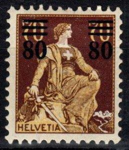 Switzerland #189 F-VF Unused CV $37.50  (P36)