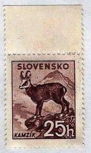 SLOVAKIA - #105 - UNUSED MINT NO GUM  - 1944 - SLOVA022DTS19