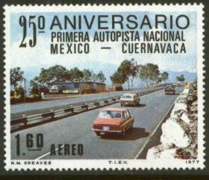 MEXICO C544 25th Anniversary of 1st National SuperHighway MINT, NH. VF.