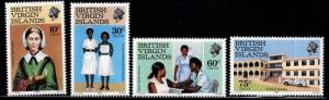 Virgin Islands  Scott 446-449 MNH** Nurse stamp set