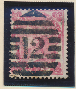 Great Britain Stamp Scott #37, Used - Free U.S. Shipping, Free Worldwide Ship...