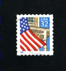 USA # 2897  1  used 1995-97 PD .08