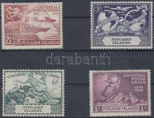 Pitcairn Islands stamp 75th anniversary of UPU set MNH 1949 Mi 15-18 WS150938