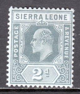 Sierra Leone - Scott #93 - MH - SCV $2.25