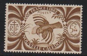 New Caledonia 252 mint hinged