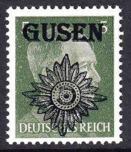 GERMANY 509 GUSEN FLOWER OVERPRINT OG NH U/M F/VF BEAUTIFUL GUM