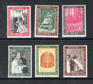 VATICAN 439-44 MNH VF  VATICAN II COUNCIL  Complete set