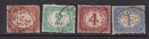 EGYPT ^^^^^BOB   1892-1907 x7 OFFICIALS  CLASSICS $$@dcc340egy