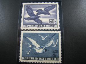 AUSTRIA - SCOTT #C54 & C56   MNH   (APS A-48)