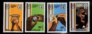 Swaziland Scott 391-394 MNH** Duke of Edinburgh Awards set