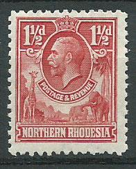 Northern Rhodesia  SG 3 Mint Hinged