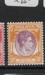 Malaya Straits SG 287 MOG (2dqz)