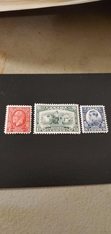 Canada Scott #192-194 MH