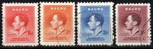 Nauru #35-8  F-VF Used CV $5.50  (X1090)