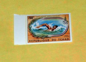 Chad - C246, MNH - Olympic Swimming. Scott's CV - $1.90