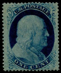 #24 XF OG NH WITH PFC (SIMILAR STAMPS SOLD 10-12-2011 FOR $1,000) HV5239