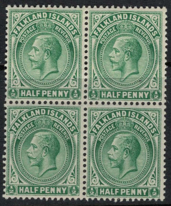Falkland Is. #30* NH Block of 4  CV $12.00