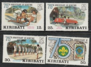 Kiribati #410-413 MNH Full Set of 4