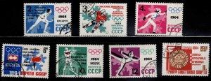 Russia Scott 2865-2871 Used CTO set