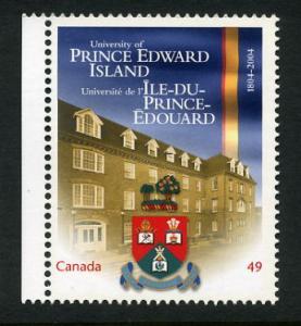 2034 49C UNIVERSITY OF PRINCE EDWARD ISLAND ISSUE  MNH