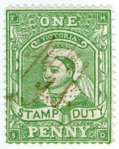 (I.B) Australia - Victoria Revenue : Stamp Duty 1d