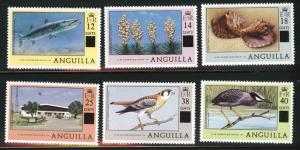 ANGUILLA Scott 337-342 MNH** set CV$10.50