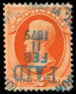 momen: US Stamps #183 Revenue Usage