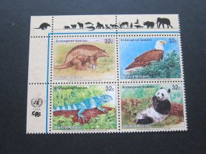 United Nations 1995 Sc 660a animal MNH
