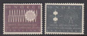 Norway 471-2 mnh