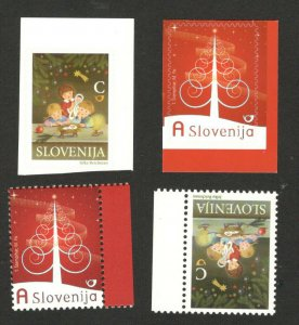 SLOVENIA - MNH TWO SETS - Christmas and New Year - 2009.
