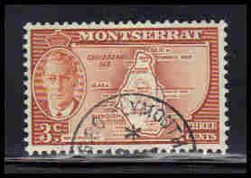 Montserrat Used Very Fine ZA5640