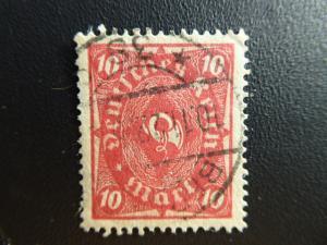 Germany 1922  Sc.#181  CV.$1.50  used