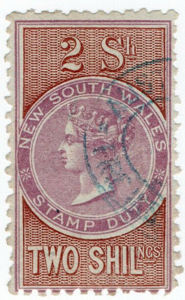 (I.B) Australia - NSW Revenue : Stamp Duty 2/-
