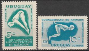 Uruguay #628-9  MNH (S2860L)