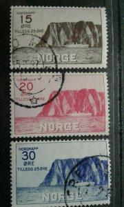 Norway #B1-3 used e203 7532