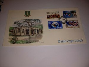British Virgin Islands 1983 Commonwealth Day First Day Cover