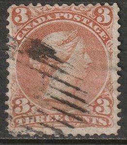Canada 1868 Sc 25 used