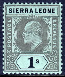 Sierra Leone - Scott #99 - MH - SCV $6.25