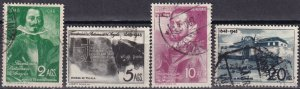 Angola #311-4 F-VF Used CV $8.40 (Z6266)